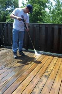 Decking Cleaning Manchester image